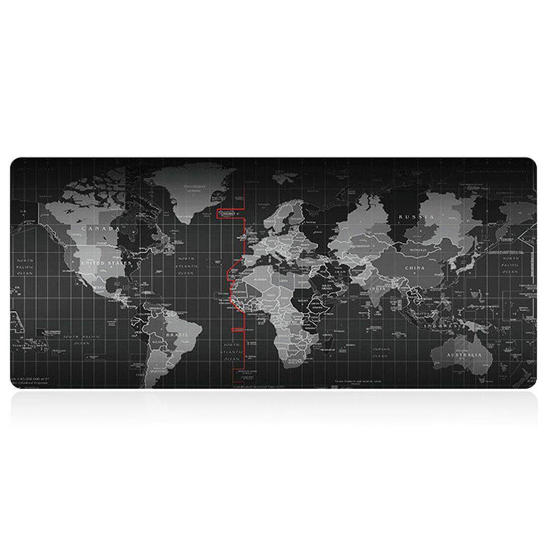 New Fashion Old World Map Mouse Pad for Mouse Notebook Computer Mousepad Gaming Mouse Mats for Mouse Game(80x30cm) Malaysia