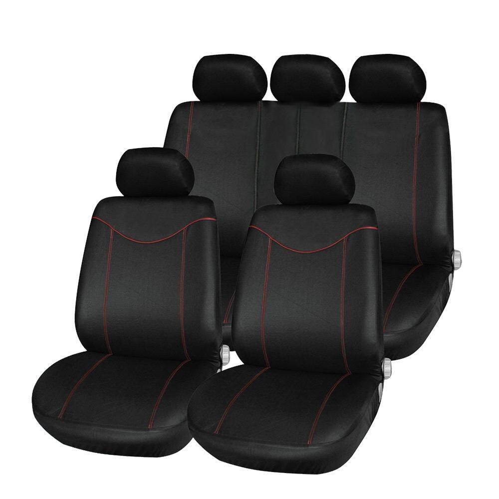 T21638 11pcs Universal Low-Back Car Seat Cover Set Four Seasons Auto Cushion Interior Accessories By Intelligent Time.
