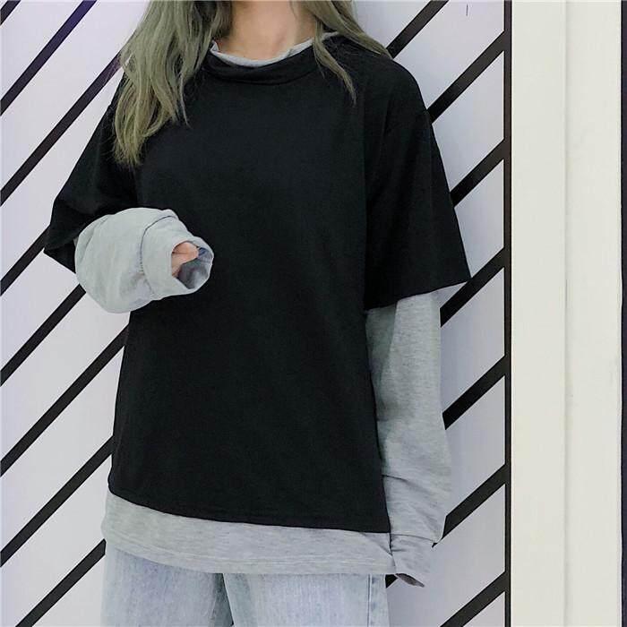 Sweatshirts Long Sleeve Loose Thin Top By Perfect Echo.