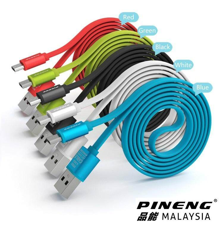 100% Original Pineng Pn 303 Quick Fast Charge Pn-303 Micro Usb Cable For Android Pn303 By Pineng Malaysia.