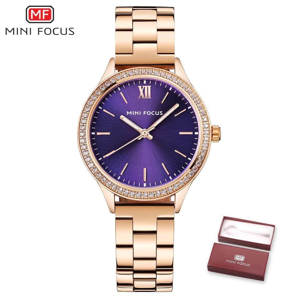 Mini Focus MF0043L Simple Elegant Stainless Steel Women Watch Malaysia