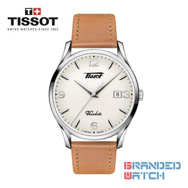 Tissot T118.410.16.277.00 Mens Heritage Visodate Quartz Leather Strap Watch Malaysia