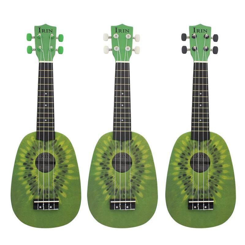 Star Mall 21 Inch 12 Fret 4 String Basswood Ukulele Electric Acoustic Guitar Kiwifruit Style Ukelele for Musical Instrument Lover Style:Kiwi Malaysia
