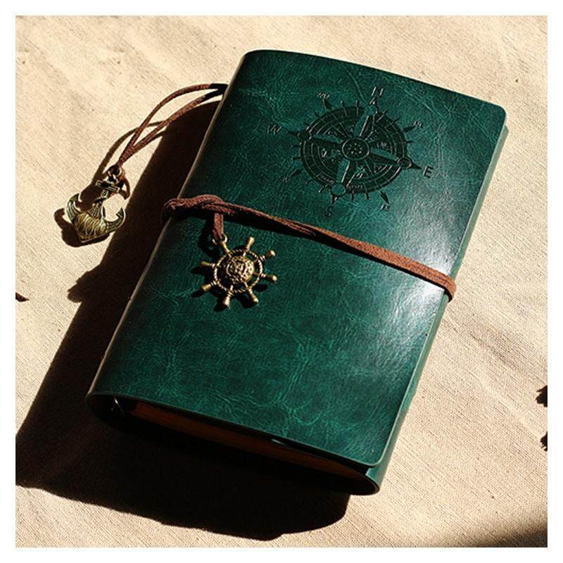 Retro Personality Notebooks Journal Notepads Ring Binder Diary Notebook Green S By Greatbuy888
