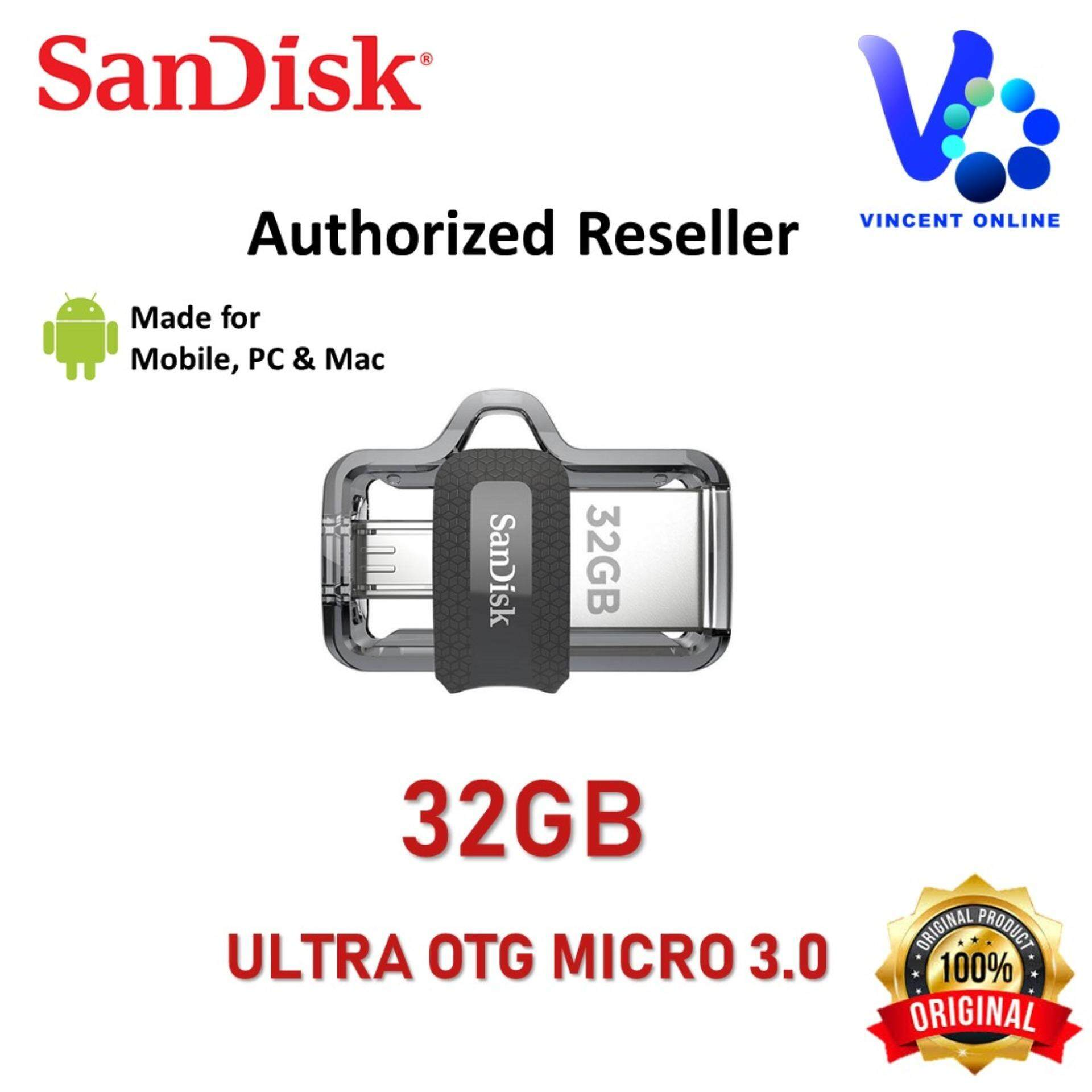 Otg Drives For The Best Prices In Malaysia Sandisk 16gb Ultra Dual Usb Drive 30 100 Original 32gb M30 Flash