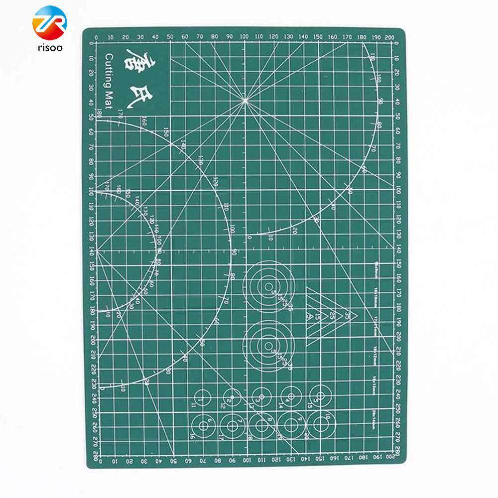 Plastic Cutting Mat Pad PVC Self-Healing A4 Office Home Paper Craft DIY Tool Bricolage Double Sided Grid Line Cutting Board