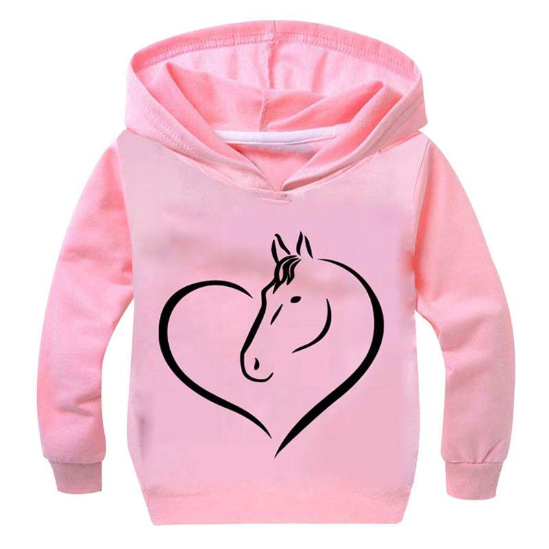 Sunny Children Autumn Cute Creative Unicorn Printing Fashion Boutique Hoodies By Sunnyup.