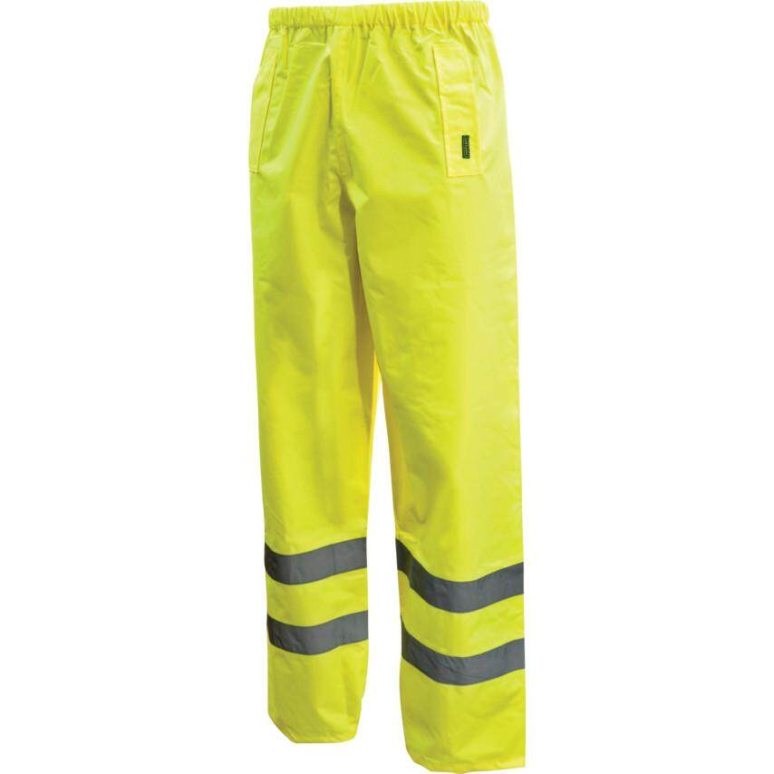 L SIZE HI-VIS TROUSERS YELLOW