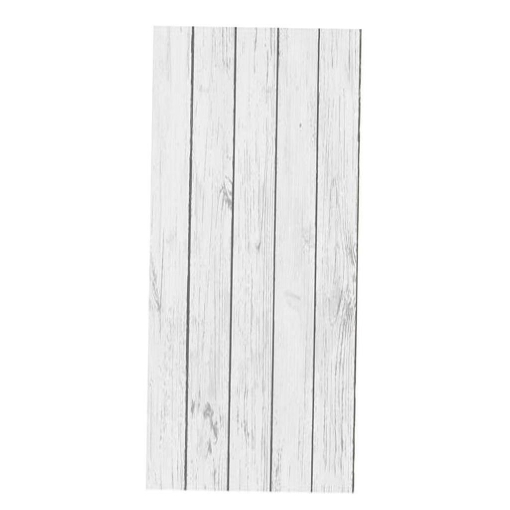 BolehDeals Nordic Style Wood Stripe Effect Wall paper Realistic 3D Effect Rustic Feature Backdrop