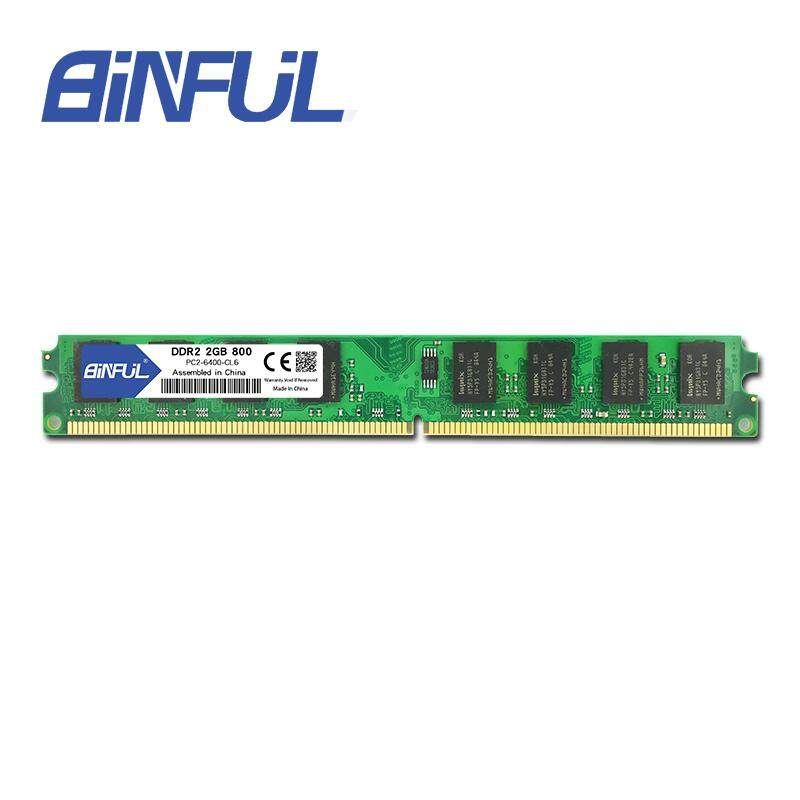Binful Original Ddr2 2gb 800mhz Pc2-6400 For Desktop Ram Memory By Intelligent Electronics Store.