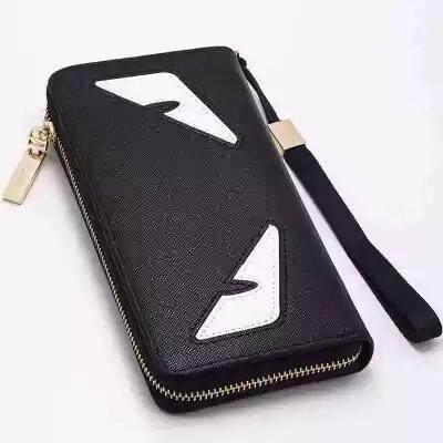 570cf0e4dc92b 2018 New Monster Long Men s and Women s Hip-Hop Zipper Multiple Card Mobile  Phone Bag