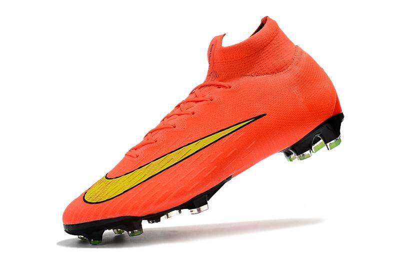 best service f9f55 cb5b9 2018 New High Ankle Football Boots Superfly VI 360 Elite FG Unisex Football Cleats  Soccer Shoes