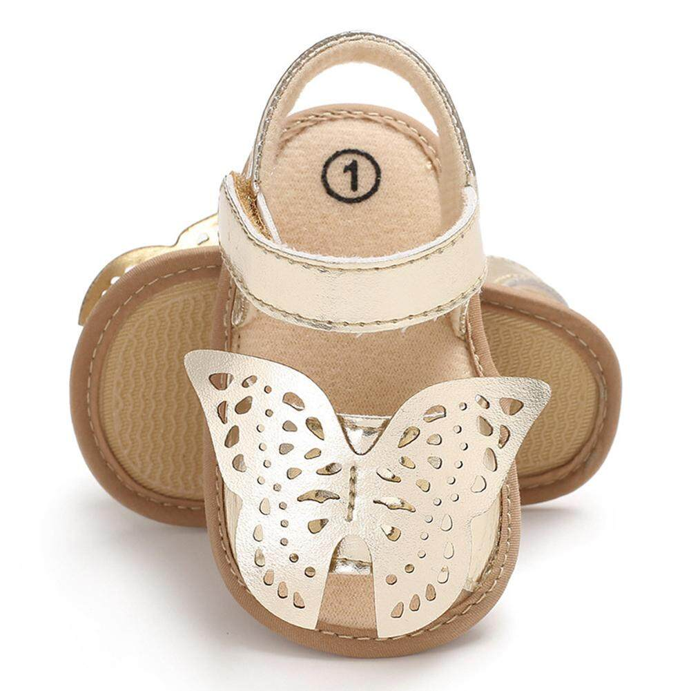 231ec41b8e8 BM Stylish Baby Girl Summer Cute Hollowed Butterfly Casual Sandals Shoes  Kids Gift