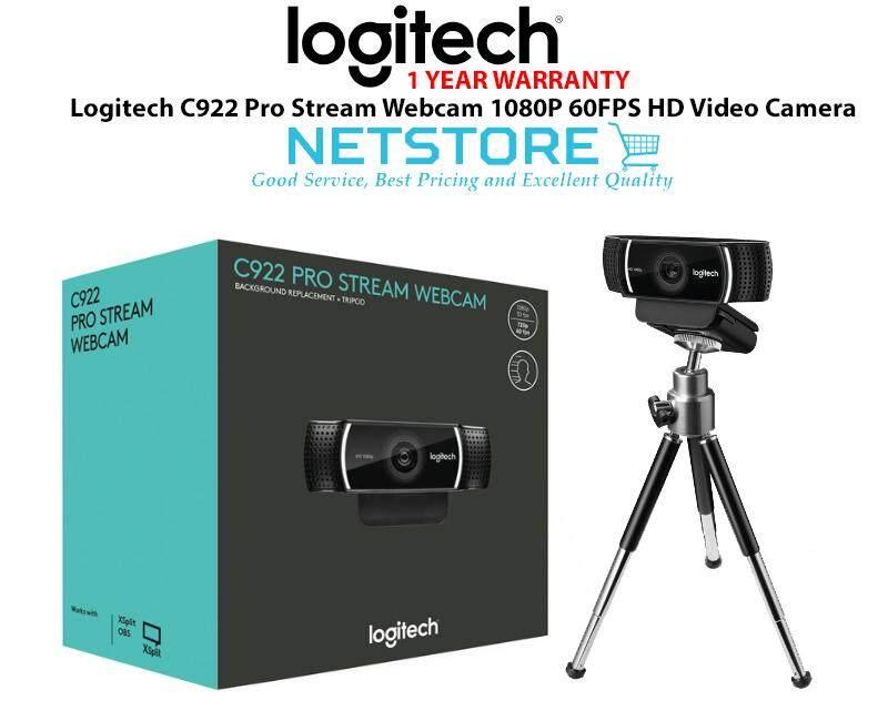 Logitech C922 Pro Stream Webcam 1080p 60fps Hd Video Camera By Netstore.
