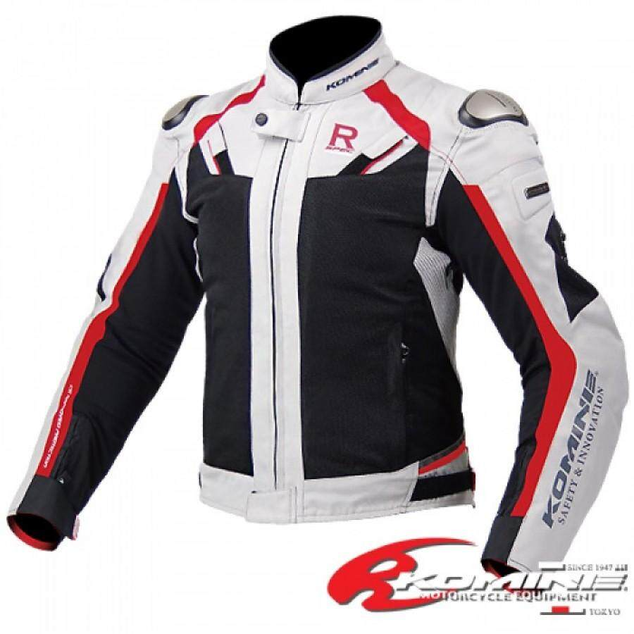 CLEARANCE Komine JK063 Titanium Mesh Riding Jacket R-Spec With Detachable Waterproof Liner [ READY