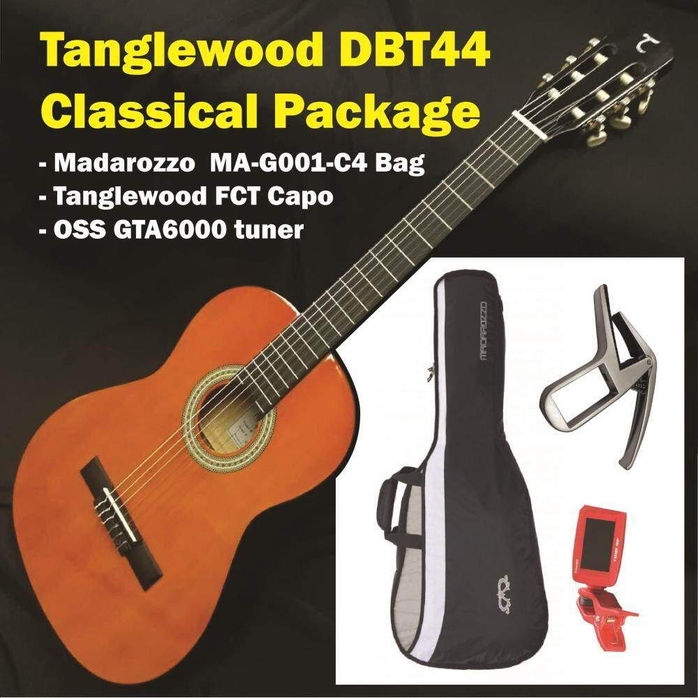 Tanglewood Classical Guitar Dbt44-Discovery Classic Package By Guitar Collection.