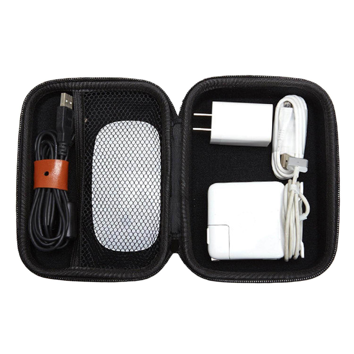 Hard Eva Portable Travel Carrying Protective Storage Case Bag For Apple Laptop Power Adapter Mouse Accessories By Duha.