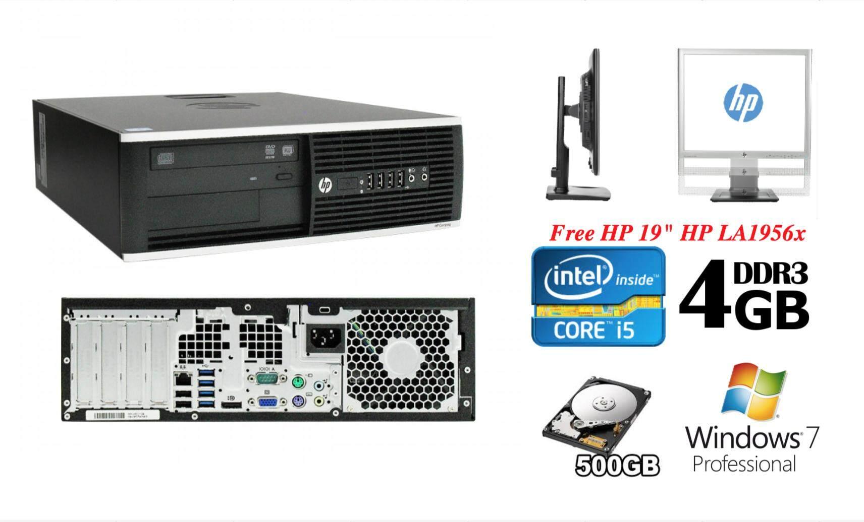 HP Compaq Pro 6300 Desktop SFF with HP 19