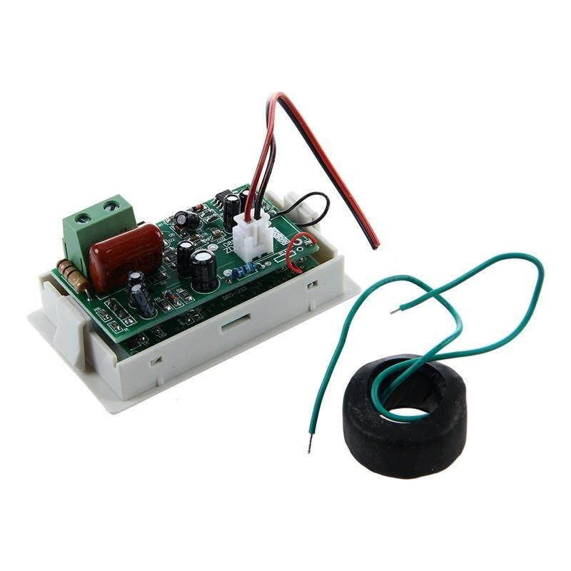 Mini Blue LED Digital Voltmeter Panel Voltage 300V / 50A
