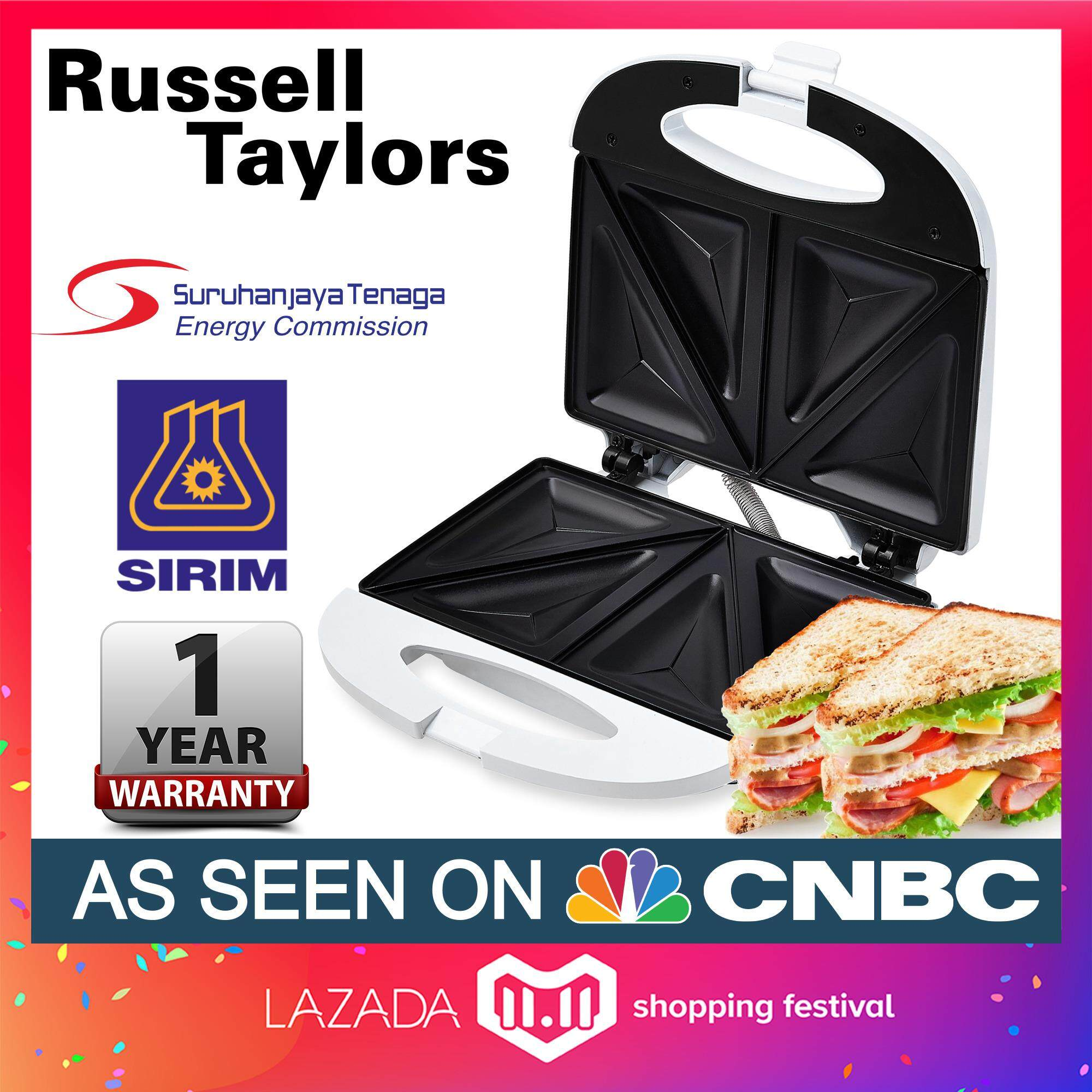 Russell Taylors Sandwich Maker Sw-10 By Russell Taylors.