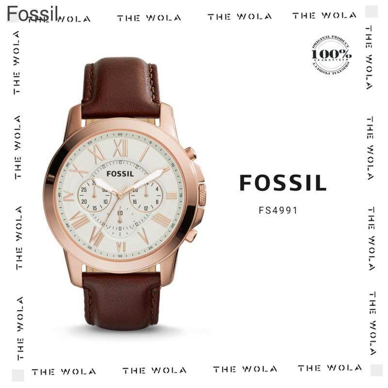FOSSIL CASUAL MEN WATCH FS4991 Original & Genuine (2 Years Warranty) Malaysia