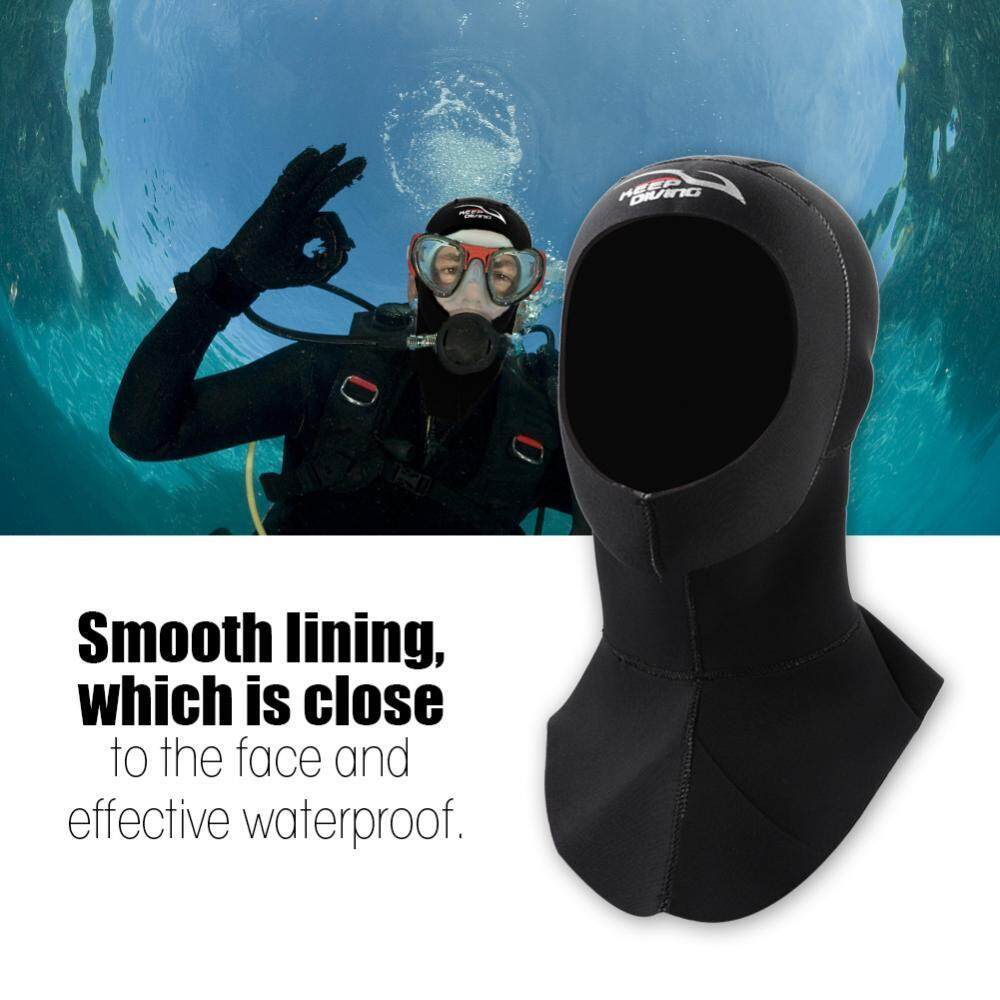 3 Sizes 3mm Neoprene Keepdiving Warm Scuba Snorkeling Cap Hood Watersports Accessory By Shanyustore.