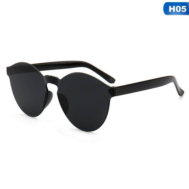 372ce60df45f Linfang Women Fashion Candy-colored Elegant High Quality Fine Sunglasses H05