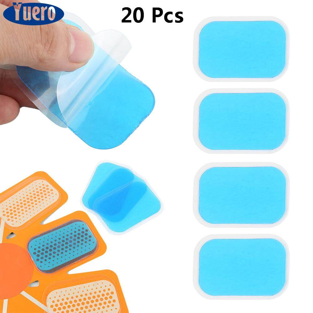 Yuero 20pcs Inirritative Hydrogel Mat Pad Replecament Muscle Training Gel Sticker By Yuero.