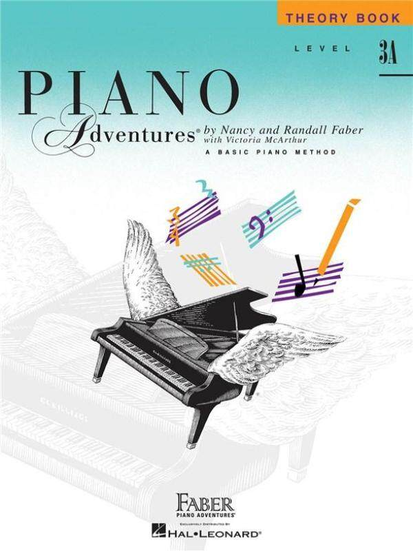 Hal Leonard Piano Adventures Theory Book Level 3A Malaysia