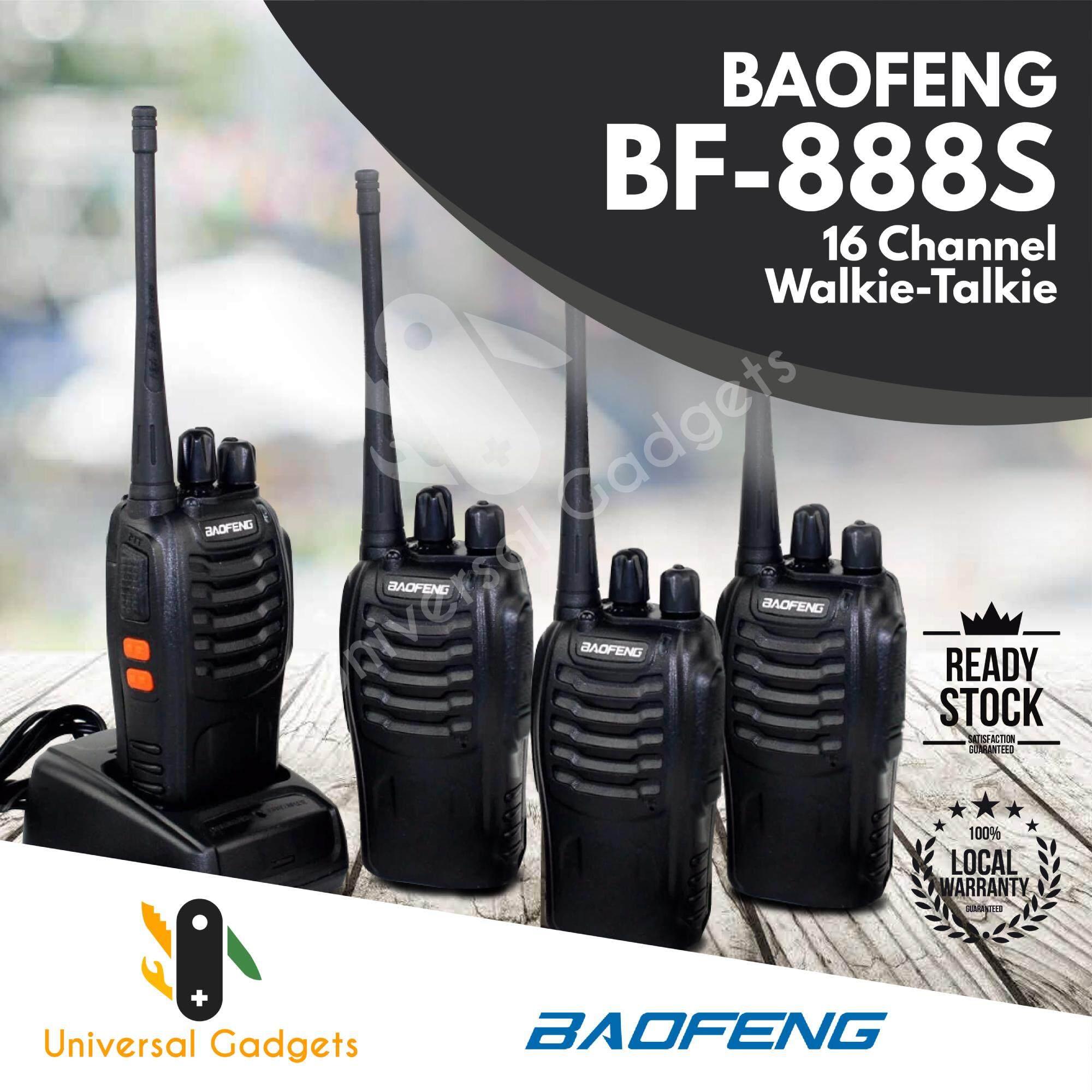 2 Pair (4 Units) BaoFeng BF-888S BF888s BF 888 / BF 888S