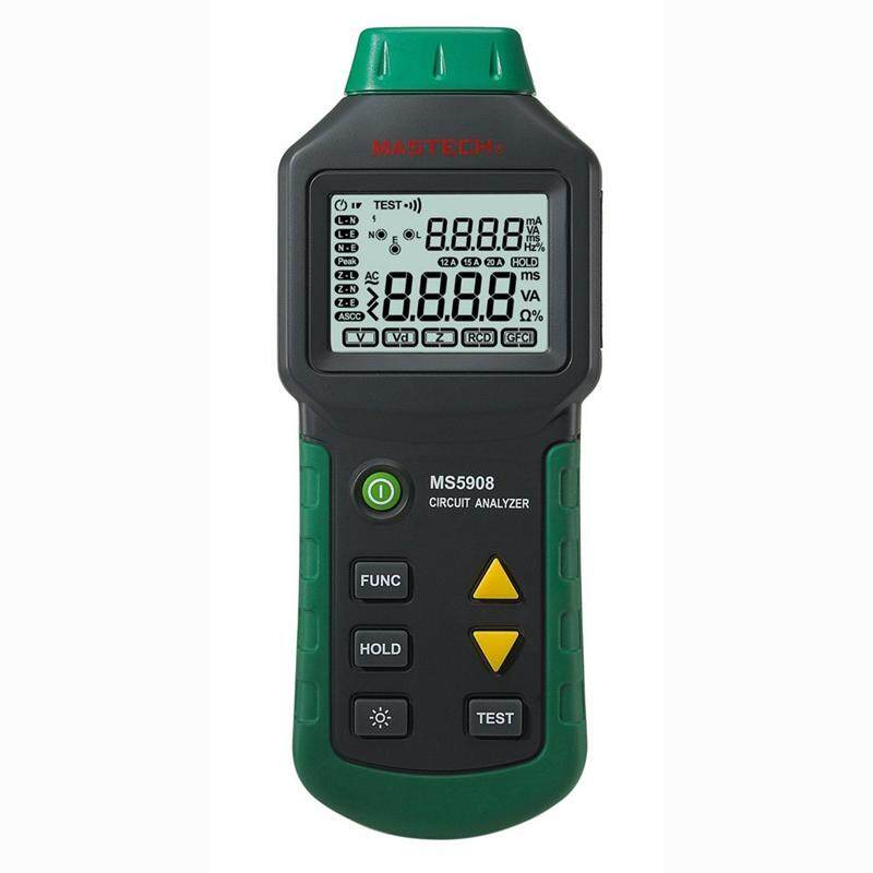 Mastech MS5908 Ture RMS Circuit Analyzer Tester Compared with Ideal Industries Suretest 61-164CN