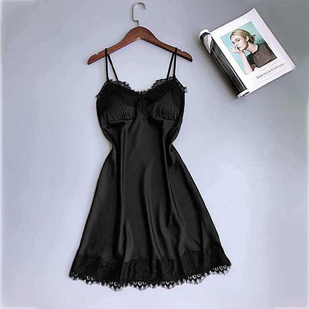 0f52366d64e Women Lace Lingerie Nightwear Underwear Robe Babydoll Sleepwear Dress