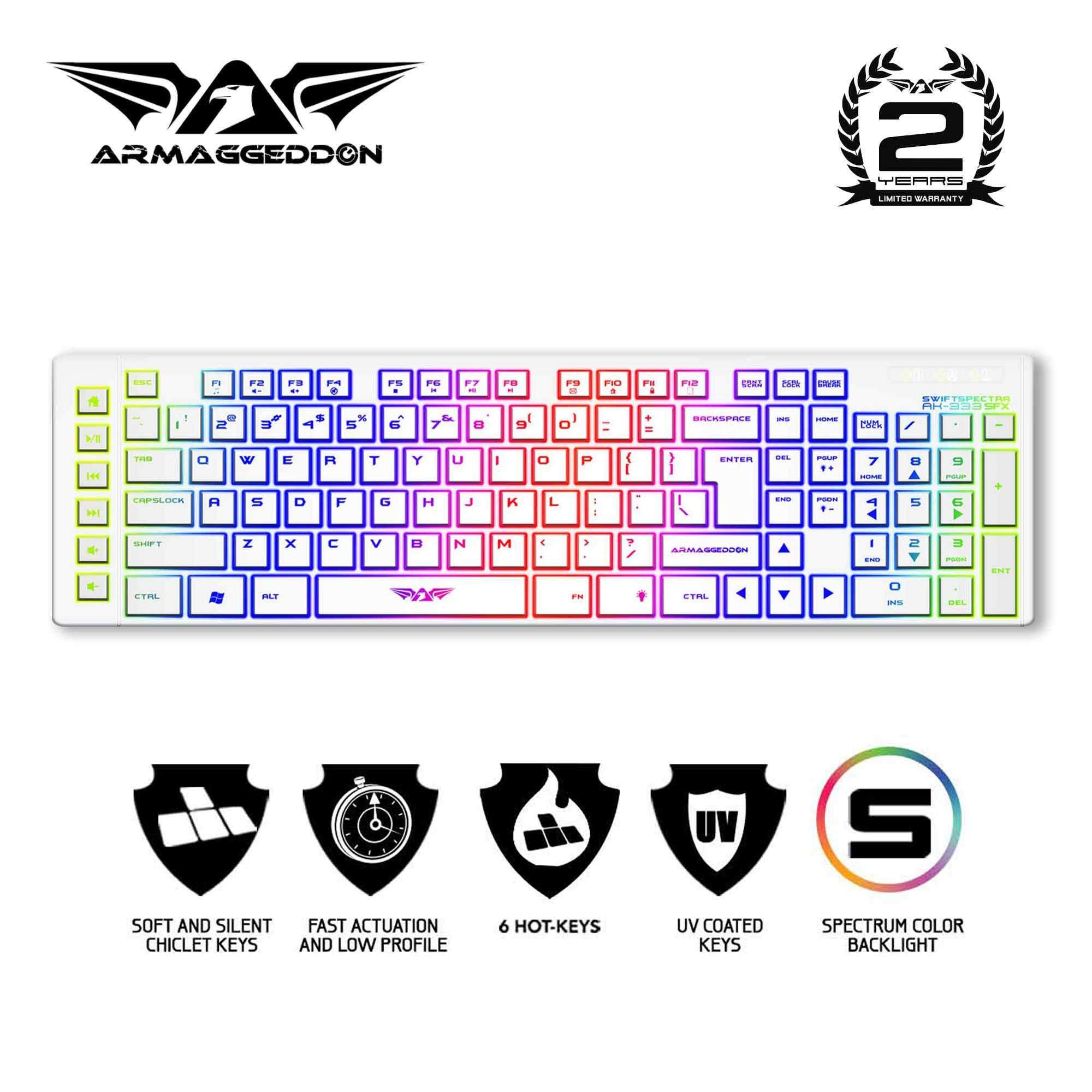 Armaggeddon Official Store Buy At Best Ak 999 Sfx And Scorpion 3 Combo 333sfx Multicolour Backlights Gaming Keyboard For Laptop Pc