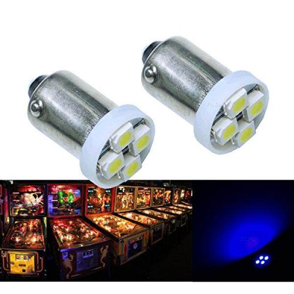 Pa® 10pcs 1893 44 47 756 1847 Ba9s 4smd Led Wedge Pinball Machine Light Bulb Blue-6.3v By Buyhole.