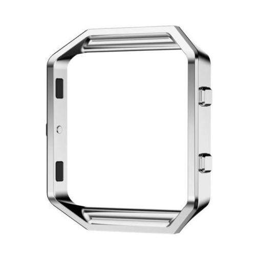 Stainless Steel Metal Watch Frame Holder Shell For Fitbit Blaze Smart Watch, Silver By Sunshineyou.
