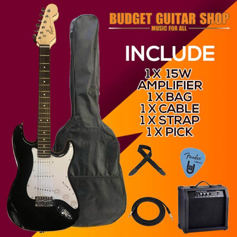 CUSTOM SQUIRE ELECTRIC GUITAR PACKAGE WITH AMPLIFIER Malaysia