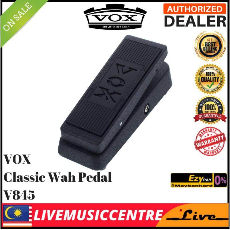 Vox V845 Classic Wah Wah Electric Guitar Effects Pedal (V846/ V847 / V860) Malaysia