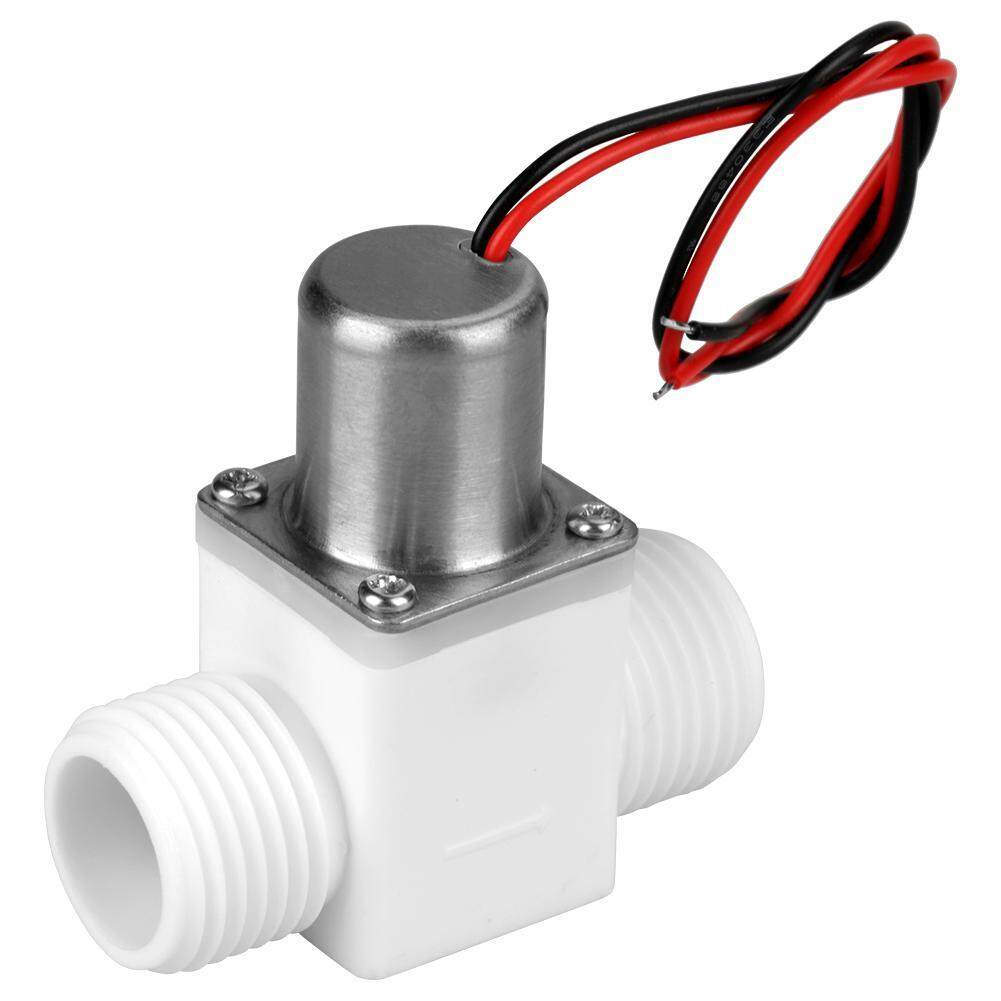 Water Control Valve Durable Plastic 1/2 DC 3.6V Water Control Electric Pulse Solenoid Valve Accessory