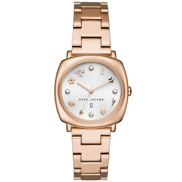 Marc Jacobs Womens Mandy Rose Gold Case Stainless Steel Watch MJ3574 Malaysia