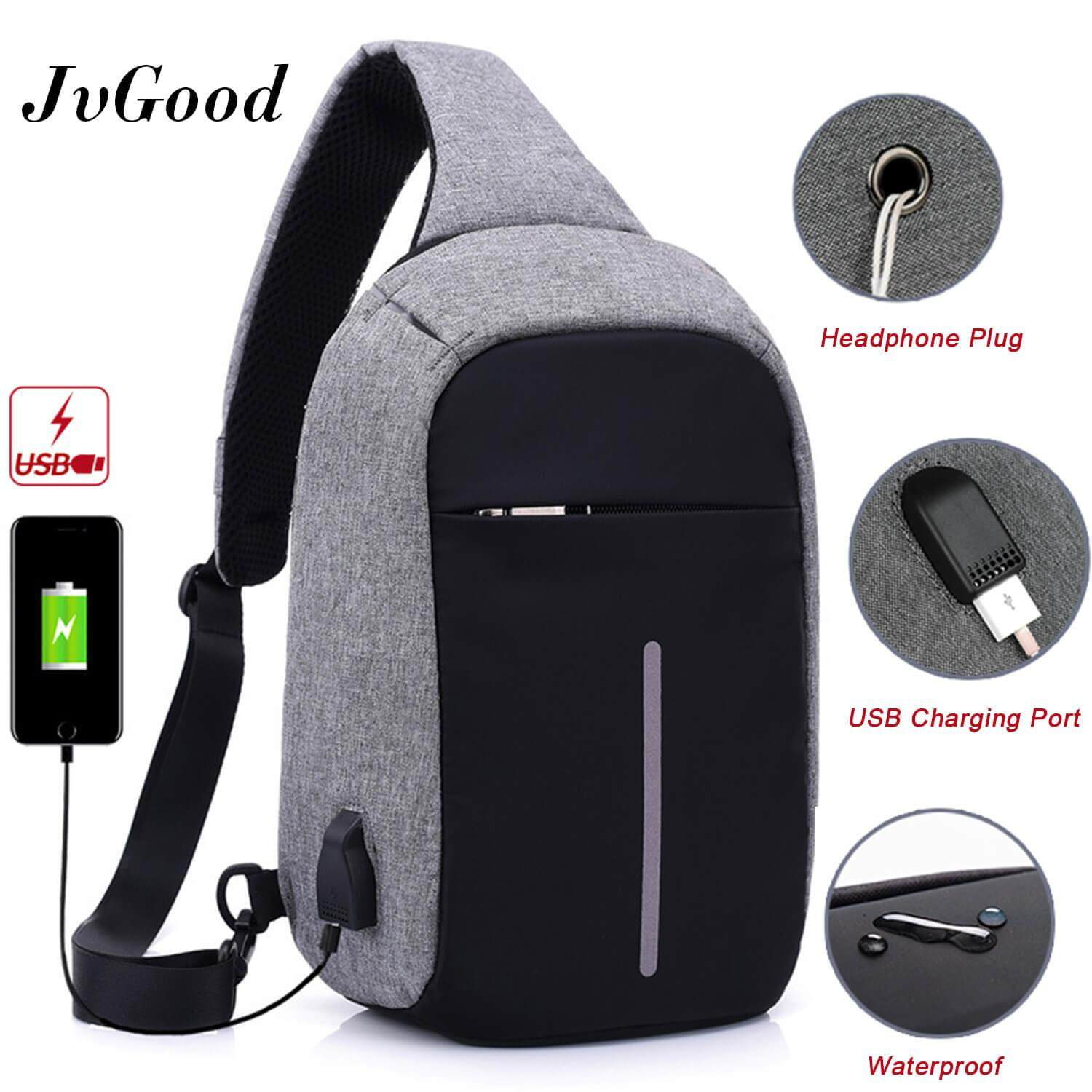 Men Bags 3 Buy At Best Price In Malaysia Lazada Ready Stock Waist Bag Fila Zipper On Jvgood Usb Charging Chest Crossbody Anti Theft Sling Lightweight Casual Daypack For