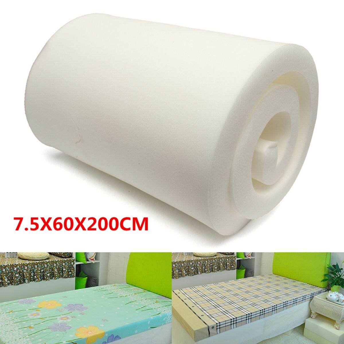 3x 24 X 79 White High Density Seat Rubber Cushion Foam Upholstery Replacement By Glimmer.