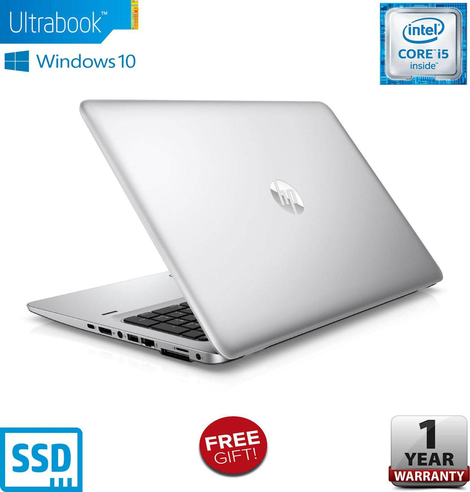 HP ELITEBOOK 840 G3 / CORE I5 6TH GEN / 8GB RAM / 256GB SSD / 1 YEAR WARRANTY / FREE BAG Malaysia