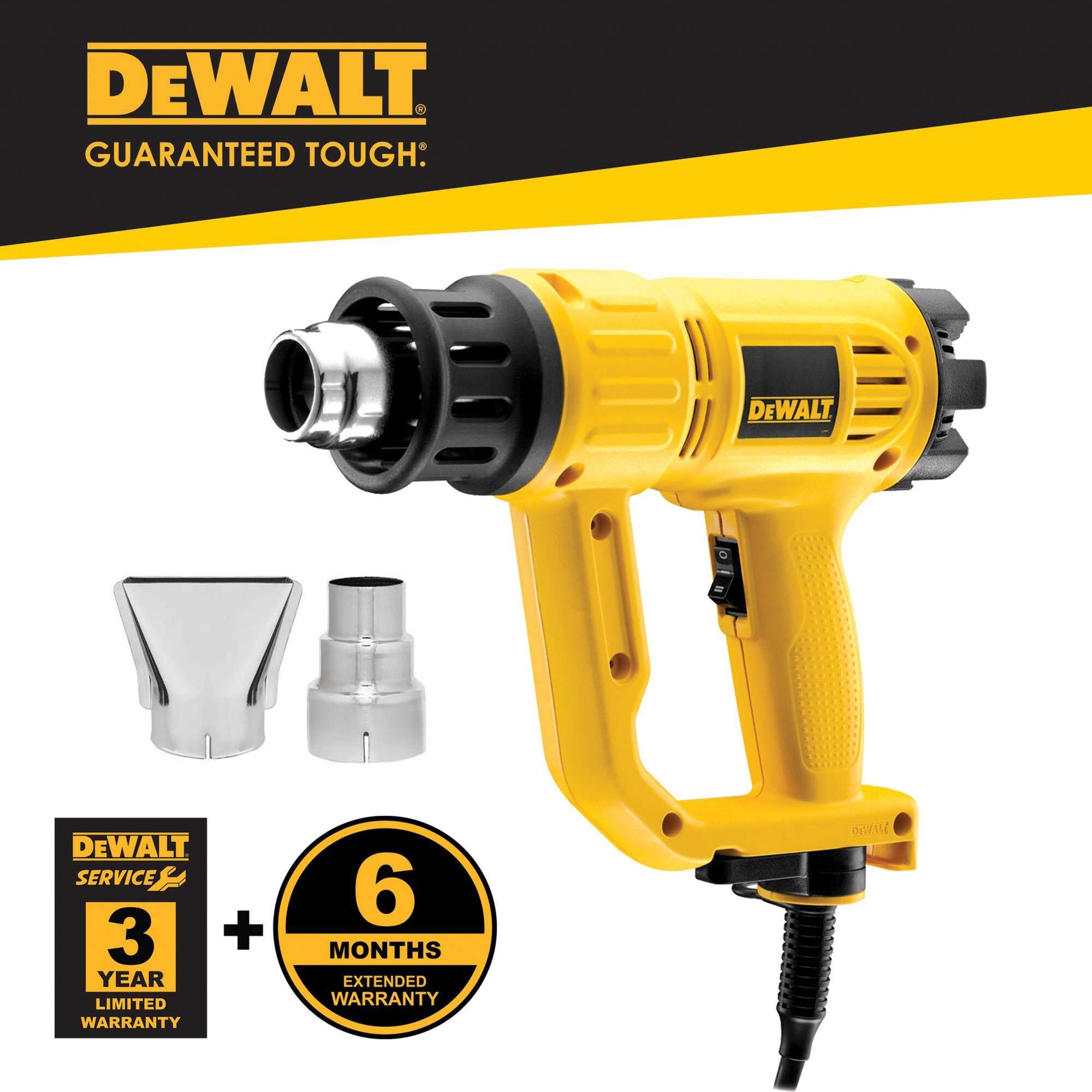 Dewalt D26411-B1 1800W 50 - 600°C Heat Gun With 2pcs Standard Nozzle ( D26411 )