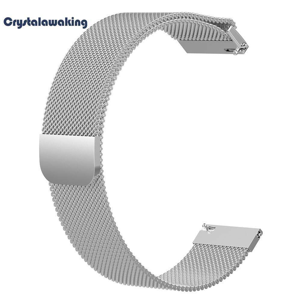 22mm Milanese Magnetic Loop Metal Wristband Strap for Samsung Galaxy 46mm Malaysia