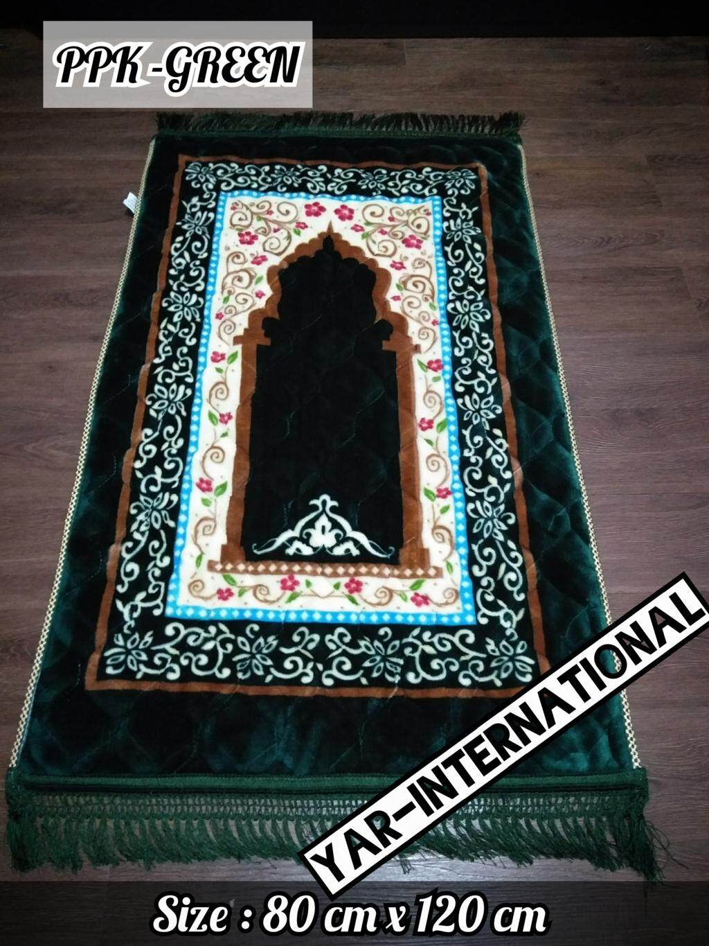 China Traditional Design Prayer Mat Sejadah 80 Cm X120 X 35 Mm