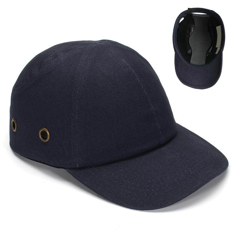 Blue Baseball Bump Caps - Lightweight Safety Hard Hat Head Protection Caps