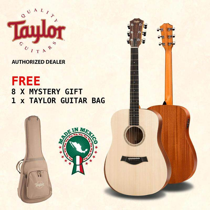 TAYLOR Acoustic Guitar Academy 10E with Pickup + FREE Taylor Guitar Bag + FREE 8 Mystery Gifts Malaysia