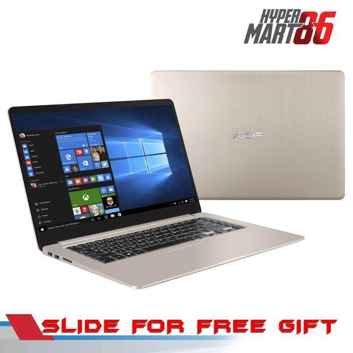 [IN HOUSE]Asus Vivobook A407U-BBV177T Notebook Gold (14inch/Intel I5/4GB/1TB/MX110 2GB) Malaysia