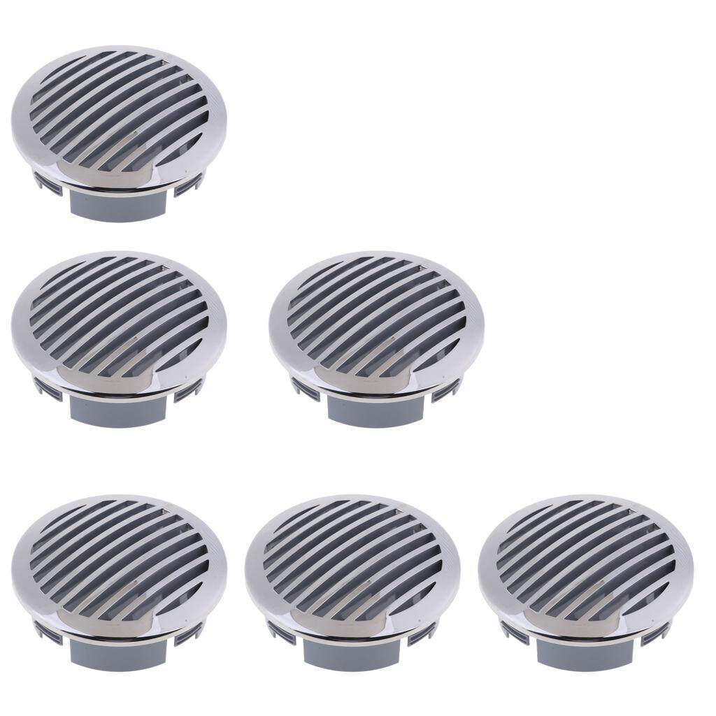 """6Pcs 3/"""" RV Marine Boat 316 Stainless Steel Round Air Flow Vent 81932SS-HP"""