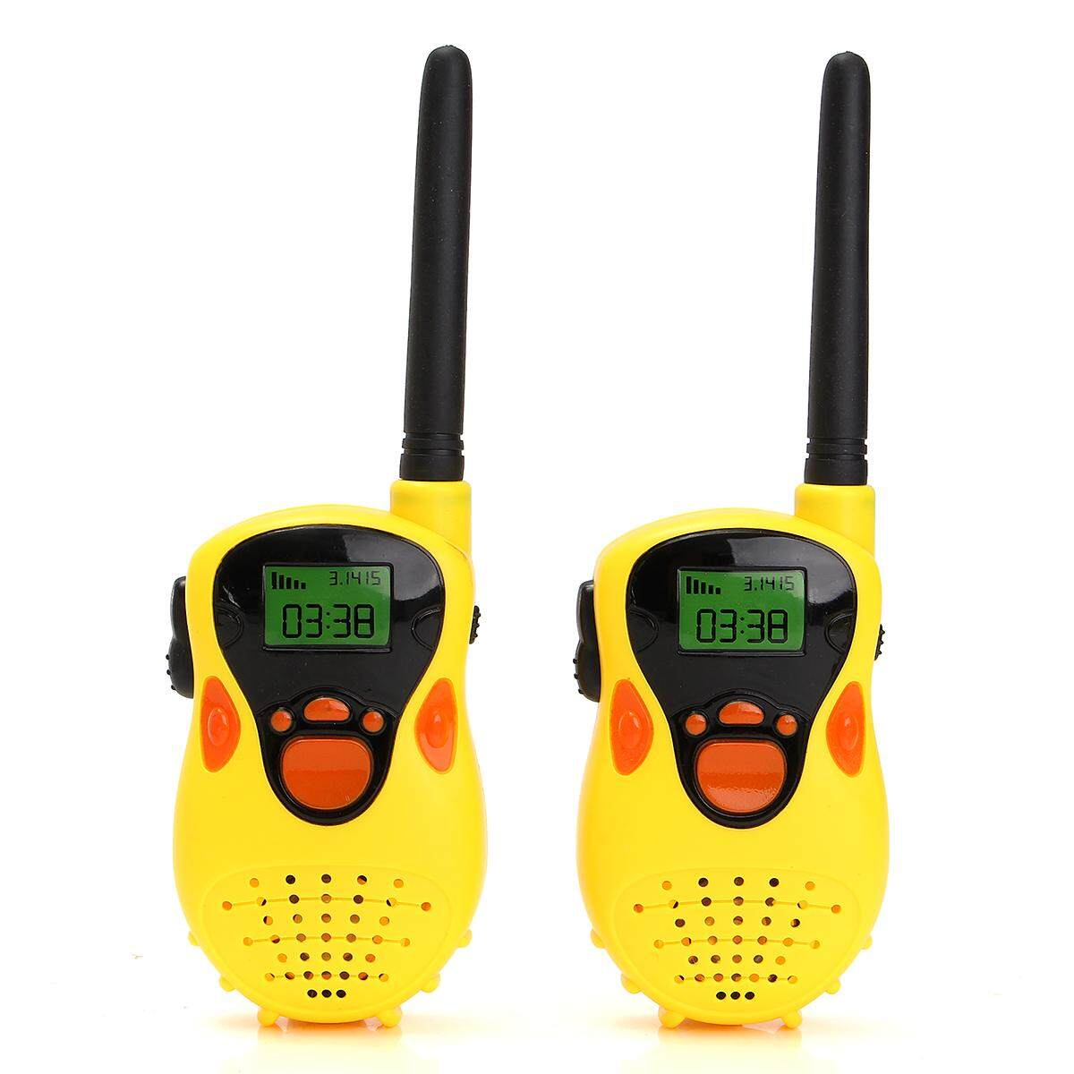 2pcs Handheld Two-Way Radio Transceiver Walkie Talkie For Kids Toy Gifts By Vividly.